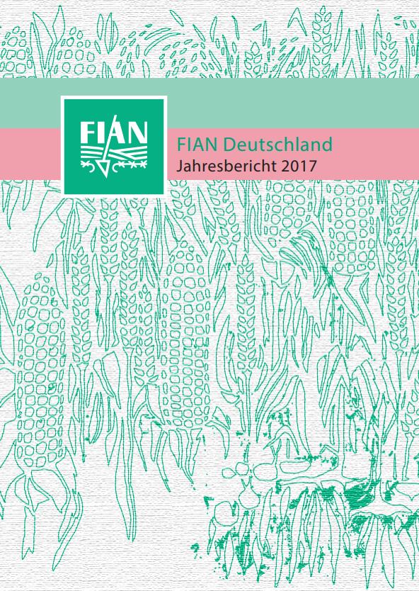 FIAN Deutschland Jahresbericht 2017